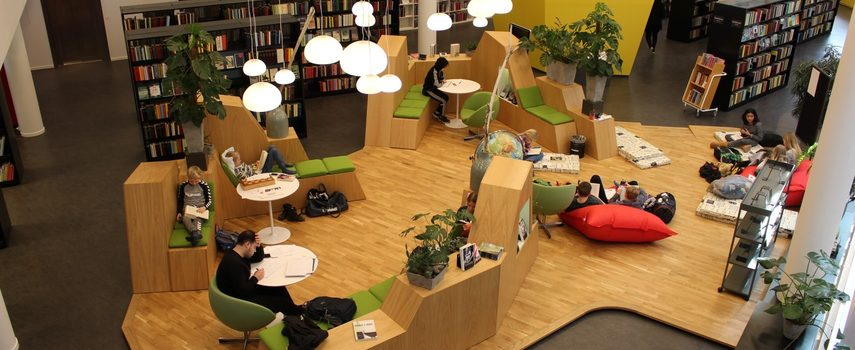 Oasen på biblioteket