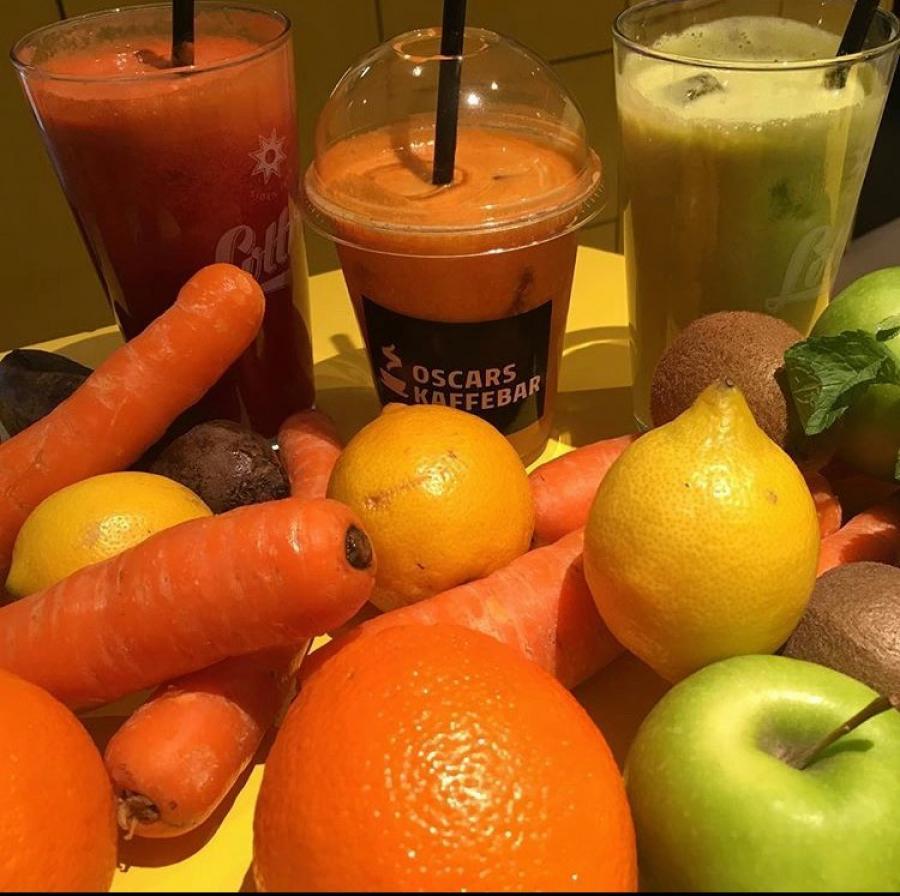 Ingredienser til juice